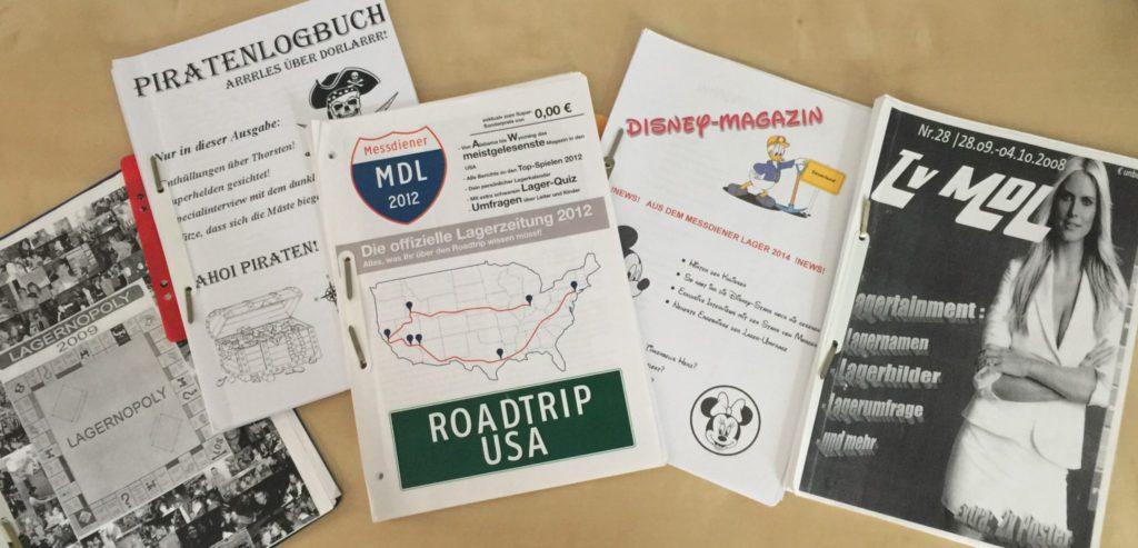 Lagerzeitungen aus den letzten Jahren