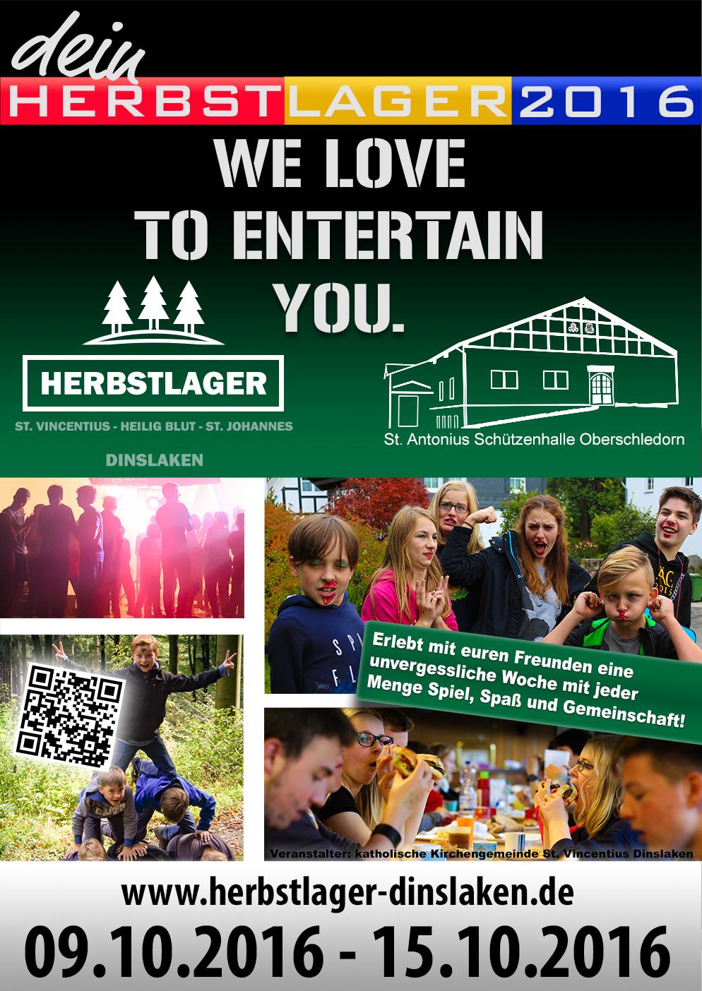 Plakat HQ final Sb - Jetzt anmelden zum Herbstlager 2016!